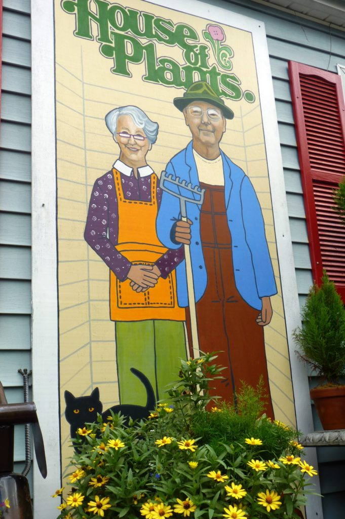 bopa and granny mural